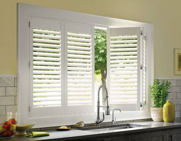 Fashionable and Top Quality Real Wood Plantation Shutter Manufacturer
