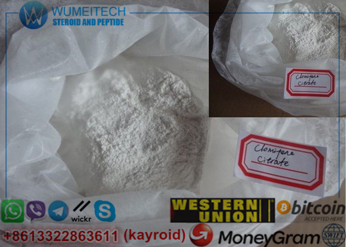 Clomifene Citrate SERMs Steroids Clomid Antistrogen Powder Clomiphene Steroid User