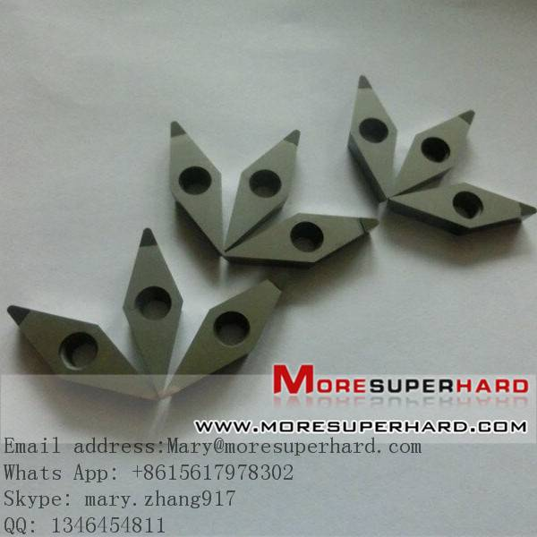 PCD milling and grooving tools inserts