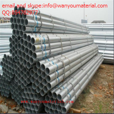 Q235 Hot Dipped Galvanized Round Steel Pipes for Chemical Industry