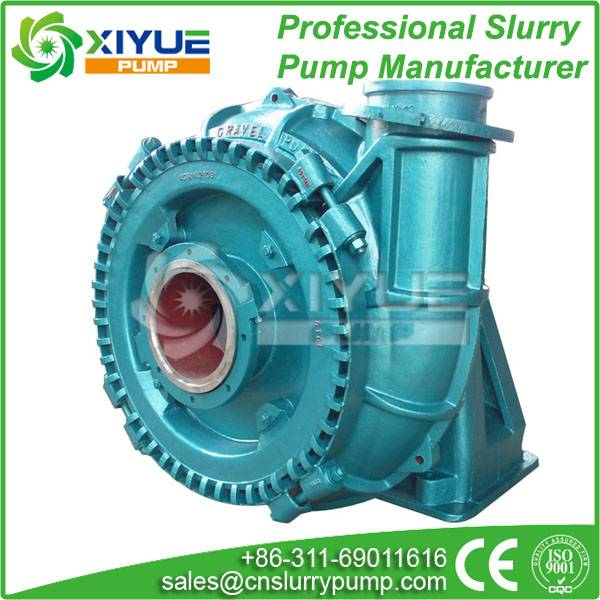 sand and gravel dredge pump