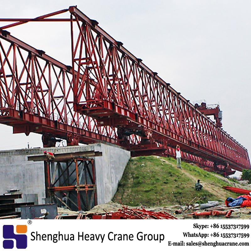 Truss type bridge double girder launching girder manufacturer