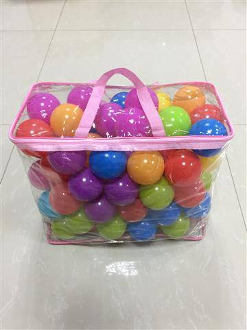 80pcs ocean ball with bag