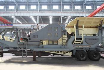 47Mobile crusher/Mobile Screening Machine/Mobile Impact Screening Plant