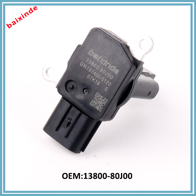 13800-80J00 / 197400-5120 Mass Air Flow MAF Sensor Meter Fits Suzuki Sx4