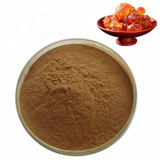 Peach gum powder extract