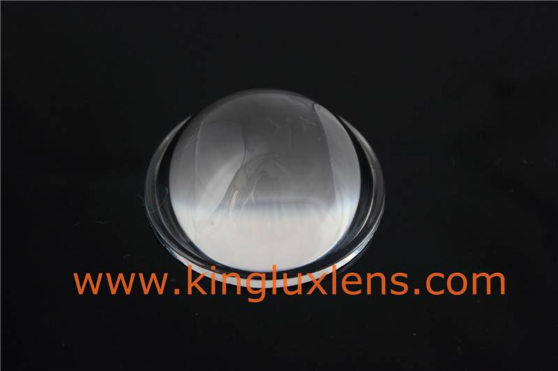 50mm glass led lens for headlights of car & motobike