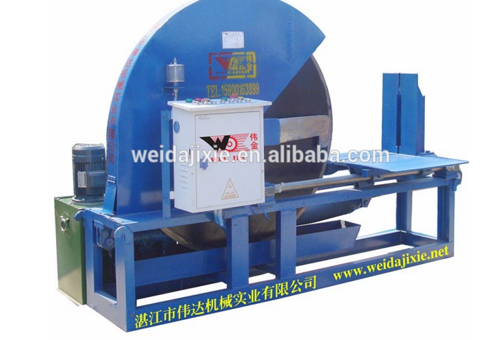 HORIZONTAL HYDRAULIC RUBBER CUTTING MACHINE