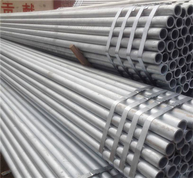 Q195 Q235 Hot DIP Galvanized Round Steel Pipe