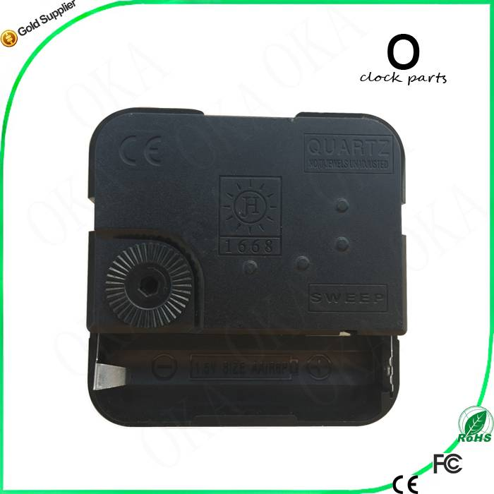 New 15 Styles Black Quartz Clock Movement Mechanism Repair DIY Tool Kit