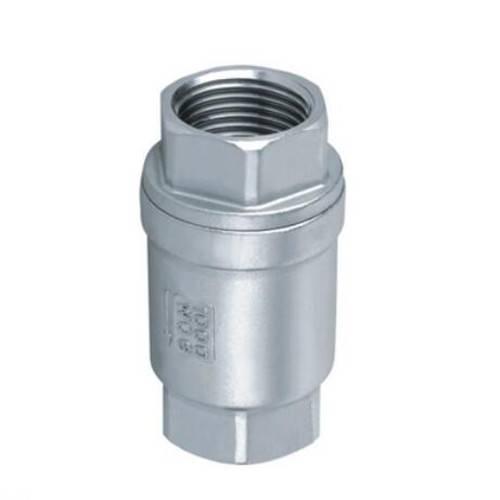 female threaded vertical check valve