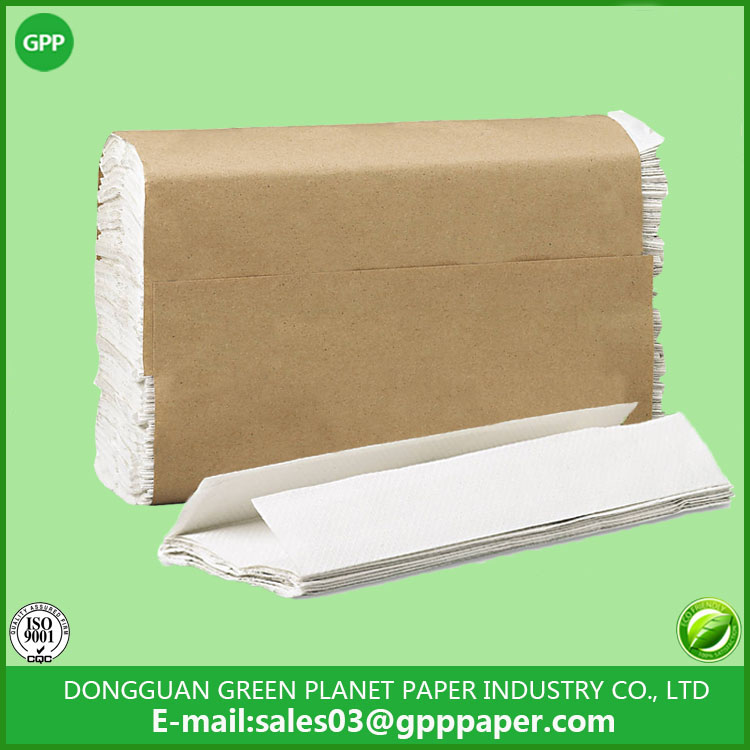 Superior Recycle white C fold paper towel