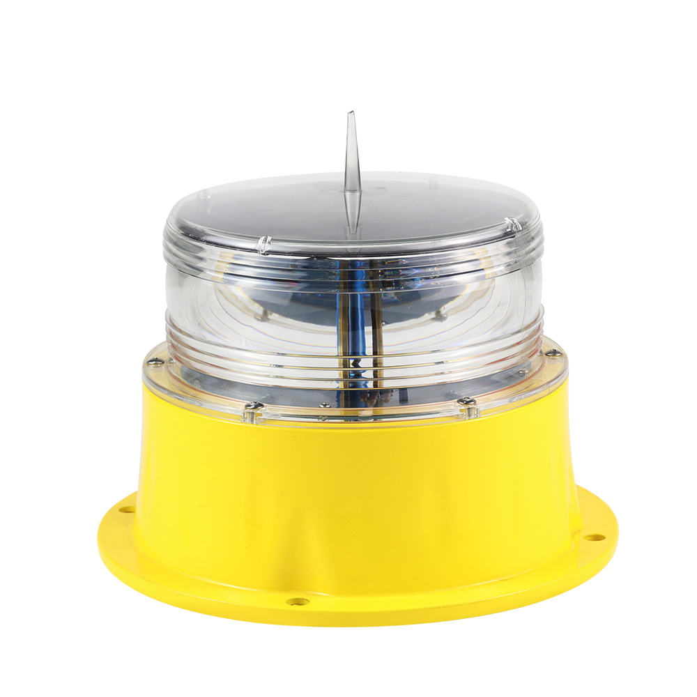 China professional manufacturer 5NM Led solar marine lantern for navigation aids