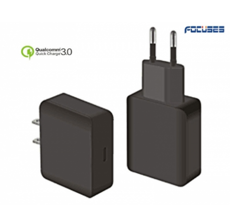 Focuses- Premium(CE Certified) 5V/3.1A QC3.0 Type C Wall Charger