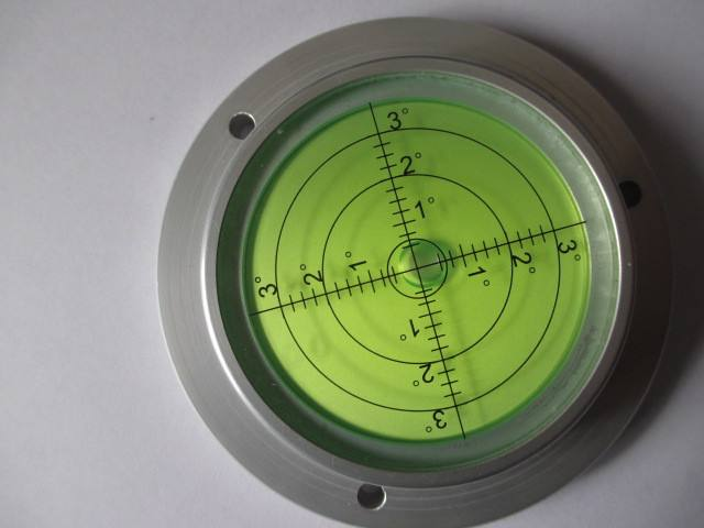 Metal Circular Gradienter spirit level bubbles