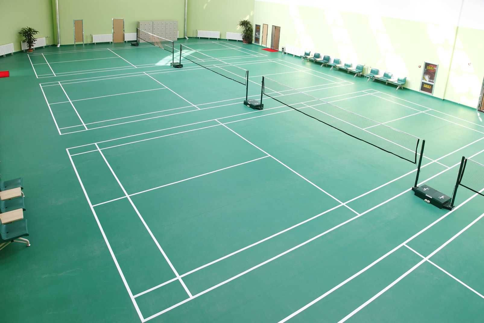 sports flooring for badminton court