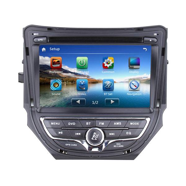 Car DVD Player for ChangAn CS35 with GPS navigation system and audio system