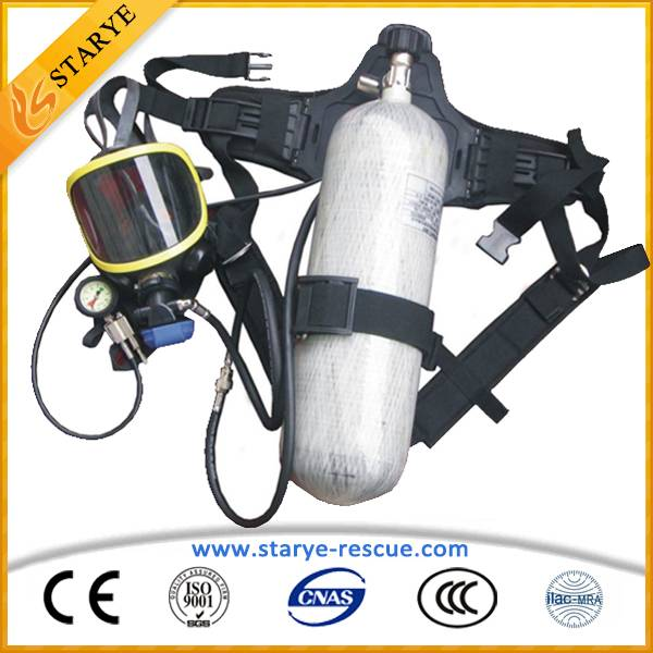 Firefighting Used Fireman Protective Air Breathing Device