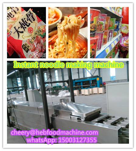 SH-1 Factort newest design cheap frying instant noodle machine