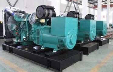 Diesel Generator Powered by Volvo Diesel Engine Stamford Alternator Single Bearing 50HZ