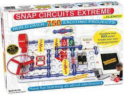 Snap Circuits Extreme SC-750 Electronics Discovery Kit
