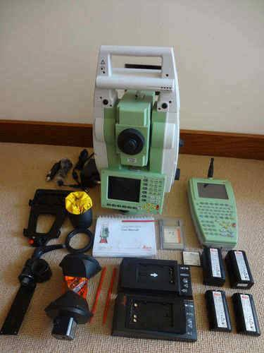Leica TCRP 1205+ R1000 Reflectorless Robotic Total Station