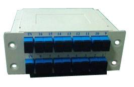 Cassette Optical Fiber PLC Splitter