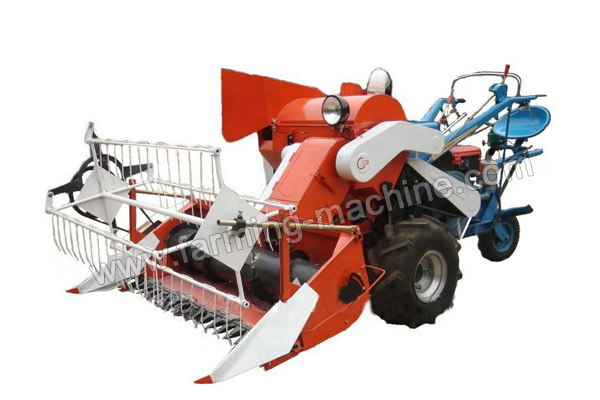 Driving-type Small Rice Harvester