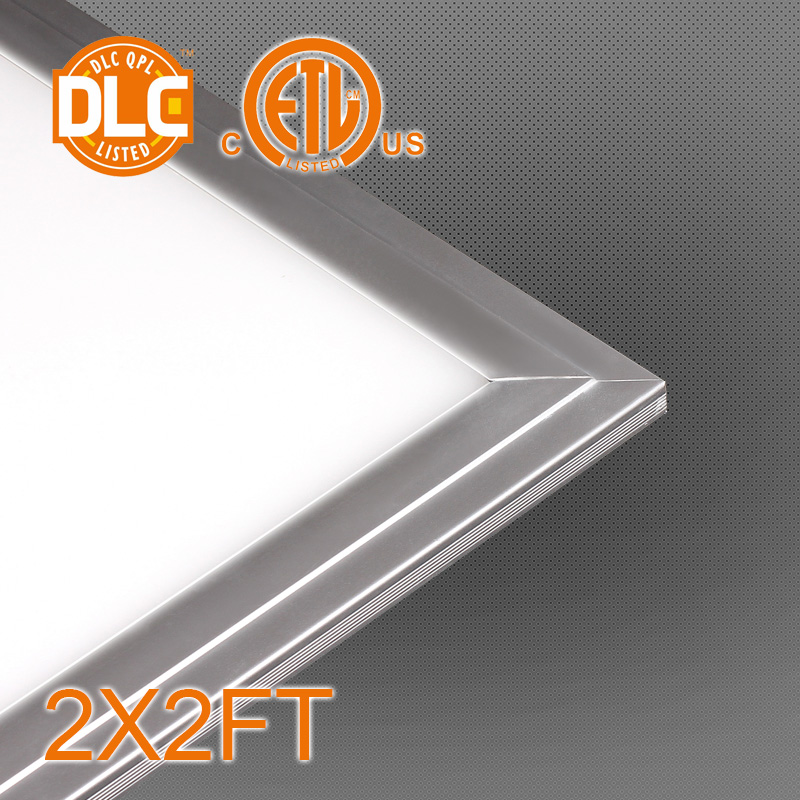 2X2/1X4/2X4FT ETL&Dlc Approved Hot Selling Aluminum Housing LED Panel Light