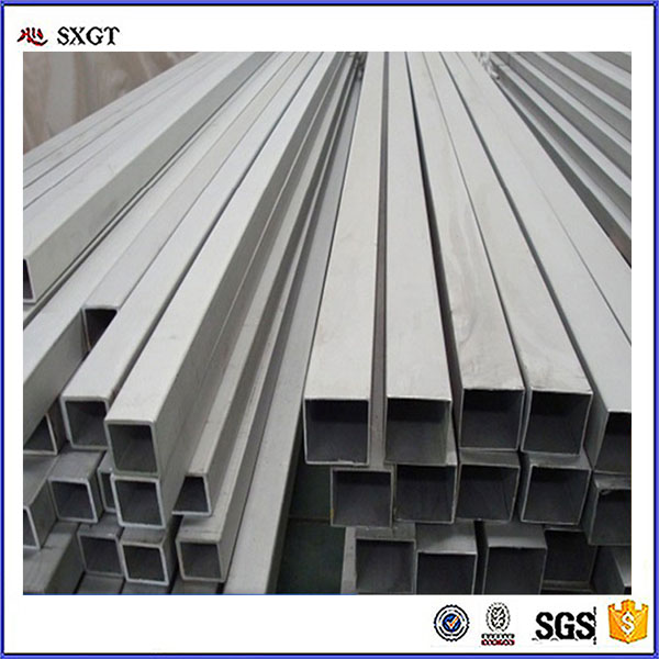 Hot dip galvanized Square Steel Tube Tangshan manufacturer
