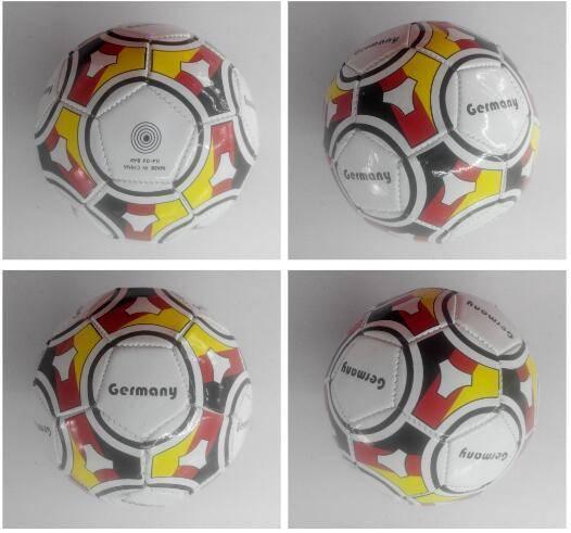 fluorescence PVC laminated size 4 soccer ball