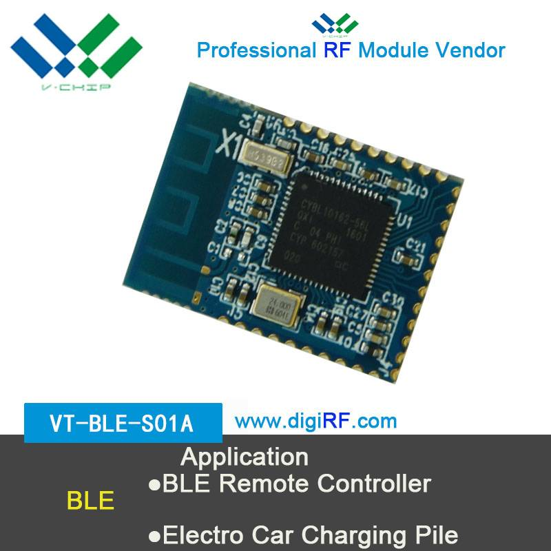 V-chip low engergy module bluetooth ibeacon 2.4GHz long range ble transceiver moudle