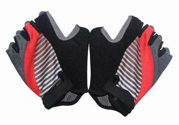 Half Finger Synthetic Leather Bicycle Gloves/Anti Vibration Bike Gloves/Pro Cycling Glove Men