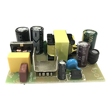 24W lasted series of poen frame power supplies with DK125 IC 12V2A