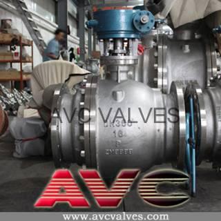 AVC CAST STEEL BALL VALVE