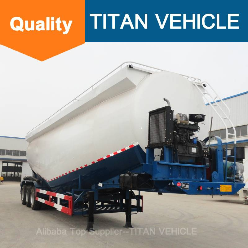 Titan Vehicle semi trailer tanks V Type Cement Semi Trailer for sale
