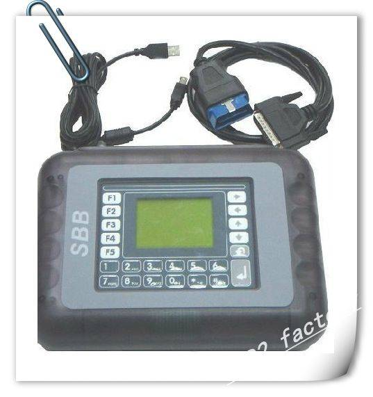 SBB V33.02 Key Programmer Support 9 languages