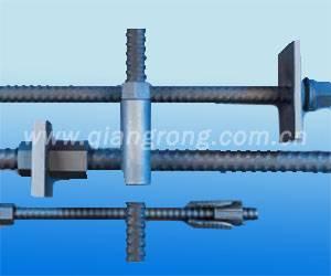 Thread steel bar Post-tensioning system