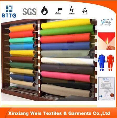 12*10 100 cotton flame retardant satin fabric
