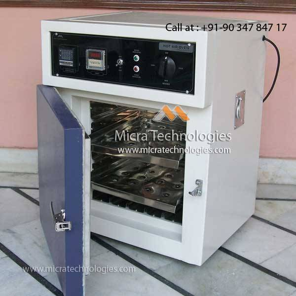 Mitec - 101 - Hot Air Oven India supplier manufacturer