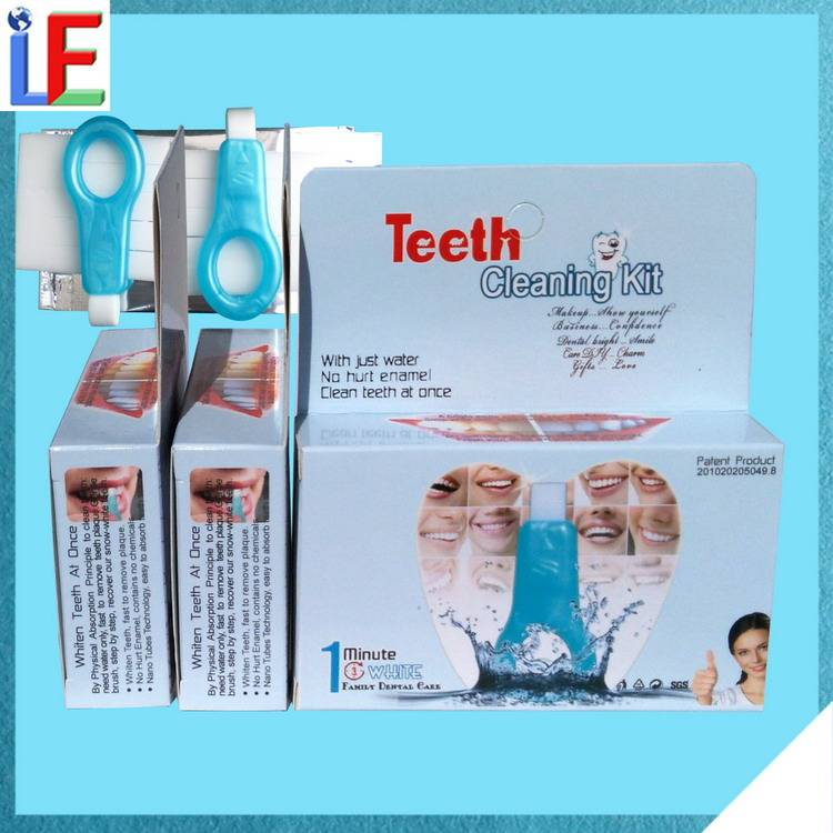 Portable Dental Unit Bright White Smiles Teeth Whitening Kit