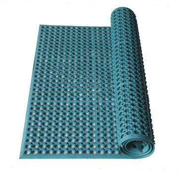 Anti-Slip with Hole Rubber Sheet