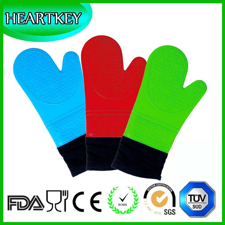 BPA free FDA approvel silicone kitchen cookware and cooking oven glove