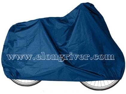 Blue Polyester Bicycle Cover