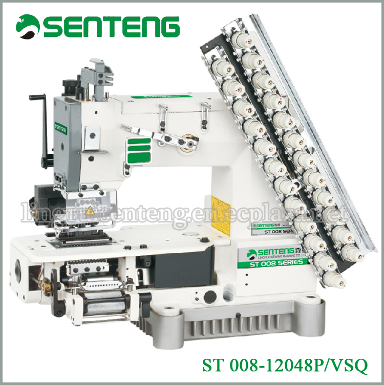 ST 008-12048P/VSQ best sale multi needle used industrial sewing machines price