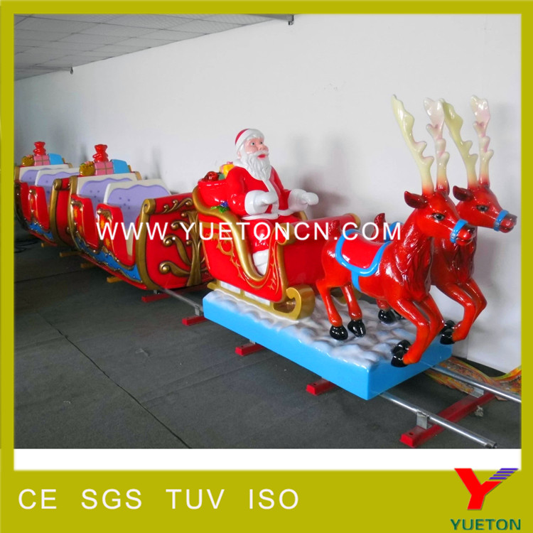 Christmas indoor outdoor electric track train