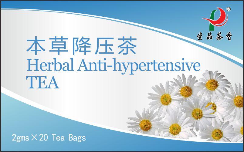 Chinese Herbal Anti-hypertensive Tea bag