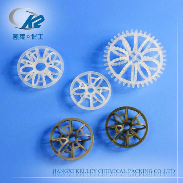 Plastic Rosette Ring (Tellerette Ring / Teller Ring)