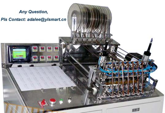 Automatic Magnetic Stripe Bonding Machine YASB-1