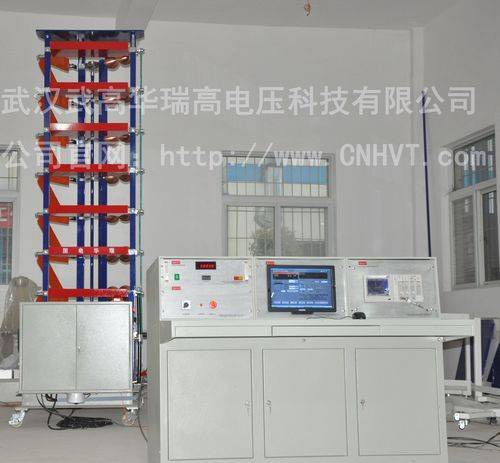 Series sets of lightning impulse voltage generator, automatic test system devices